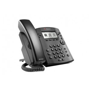 VVX 301 6-line Desktop Phone with HD Voice. Compatible Partner platforms: 20.