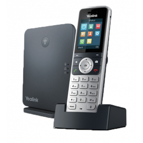 W53P High-performance SIP cordless phone system. 1.8'' 128 x 160 TFT color