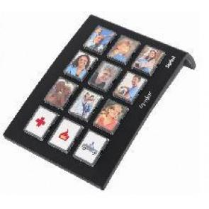 Tiptel ergophone 12* Composeur 12 touches pour numéros directs avec photos; en
