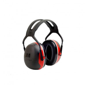 Casque antibruit Peltor X3 rouge X3-A (le casque )