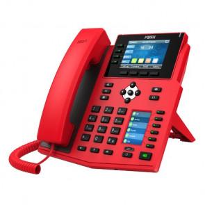 Téléphone SIP X5U PoE spécial Rouge