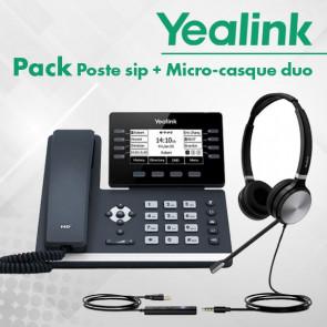 Pack SIP-T53W + UH36-DUAL-UC composé de :