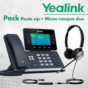 Pack SIP-T54W + UH36-DUAL-UC composé de :