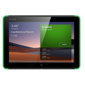 8 inch Android-based Teams Room Scheduling Panel