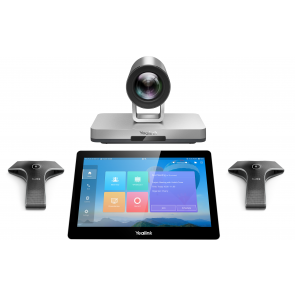 Yealink Video Conferencing System • Package including VC800 Codec. VCR11 remote