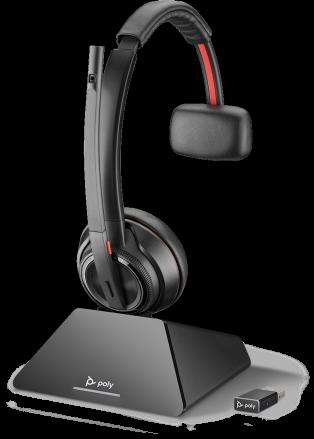 Savi 8210 UC, S8210-M C USB-A, D200 USB-A, OTH, MONO, MSFT CERT, DECT, UK/EURO