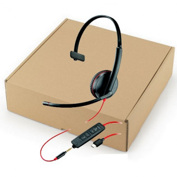 BLACKWIRE.C3215 USB-C.SINGLE UNIT