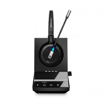 SDW 5016 / Micro casque sans fil monaural DECT + Dongle Bluetooth : Tel fixe. PC