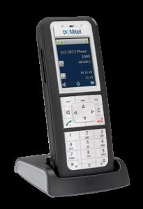 Mitel 632-V2 DECT Phone pour DECT TDM et IP - inclus chargeur de bureau. clip