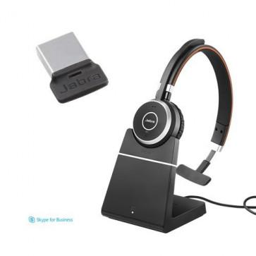 Jabra Evolve 65 MS Mono avec Base Chargeur avec dongle 370 USB