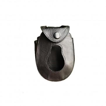 Etui de protection cuir pour téléphone ASCOM A51 avec clip ceinture
