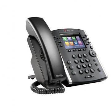 VVX 401 12-line Desktop Phone with HD Voice. Compatible Partner platforms: 20.