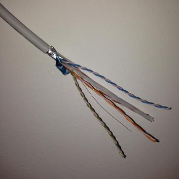 Cable LAN CAT 6A F/UTP 4P 500 Mhz LSZH (Touret 1000m)