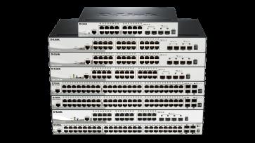 SmartPro 24 ports PoE et PoE+ Gigabit + 2 ports mini-GBIC + 2 ports SFP+ -