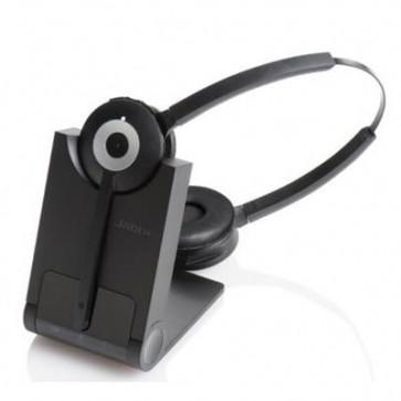 Jabra PRO™ 920 Duo. DECT. Téléphonie fixe. Antibruit.  120 mètres de portée -