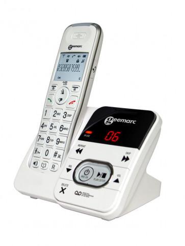 Téléphone Sans Fil DECT AMPLIDECT 295 BLANC