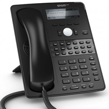 Snom D725 Global 700 Desk Telephones Black Display with backlight Gigabit switch