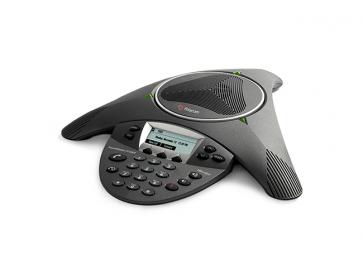 SoundStation IP6000 (SIP) conf phone. AC pwr or 802.3af Power over Ethernet.