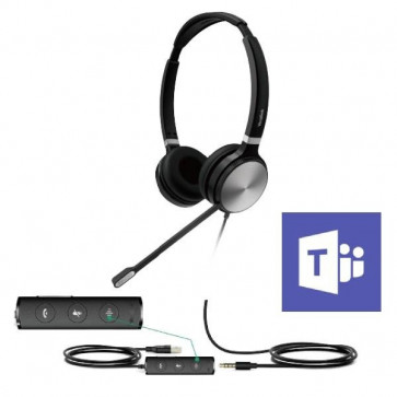 UH36 Dual Teams USB Wired Headset