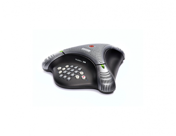 VoiceStation 300 (analog) conference phone for small rooms and offices.