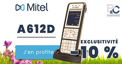 Promo Mitel 612D -10% en exclu chez B&C