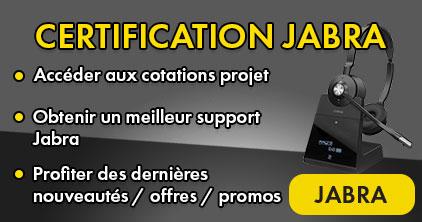 Être certifié Jabra, c'est s'accorder le privilège d'avancer professionnellement ensemble dans un objectif commun : La satisfaction client des produits Jabra