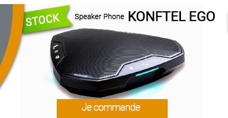 Konftel EGO, le Speaker Phone pour toutes les situations de travail