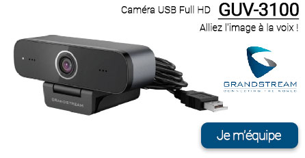 caméra GUV3100 Grandstream by BC