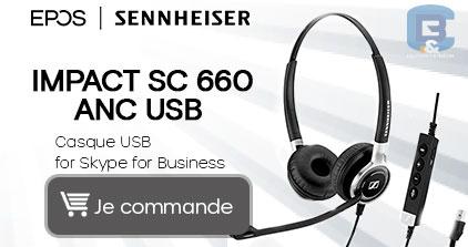Un casque USB de très bonne qualité, Epos IMPACT 660 by B&C