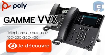 Découvrez la gamme VVX de POLY by B&C