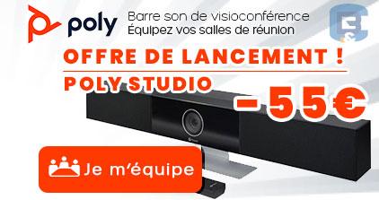Poly Studio offre de lancement ! by B&C
