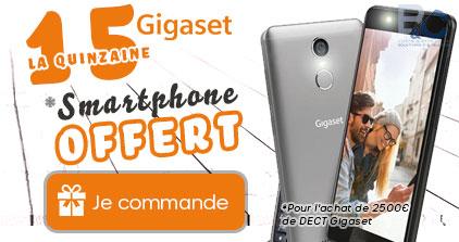 B&C vous offre un Smartphone GIGASET !