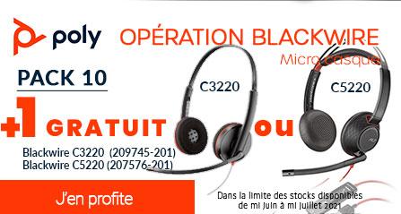 Opération Blackwire 10+1 OFFERT