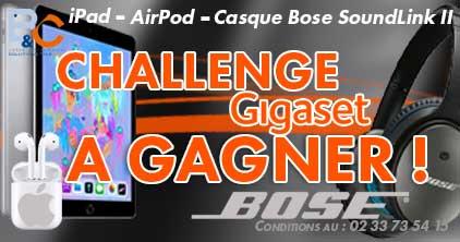 challenge gigaset by bc