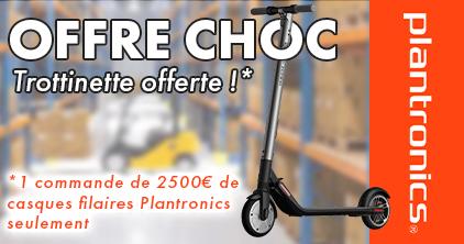 2500 euros de commande plantro = une trottinette électrique
