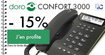 DORO confort 3000 prix réduit