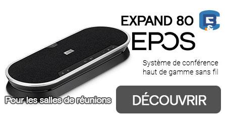NOUVEAU ! EXPAND 80  x6 microphones pour vos réunions
