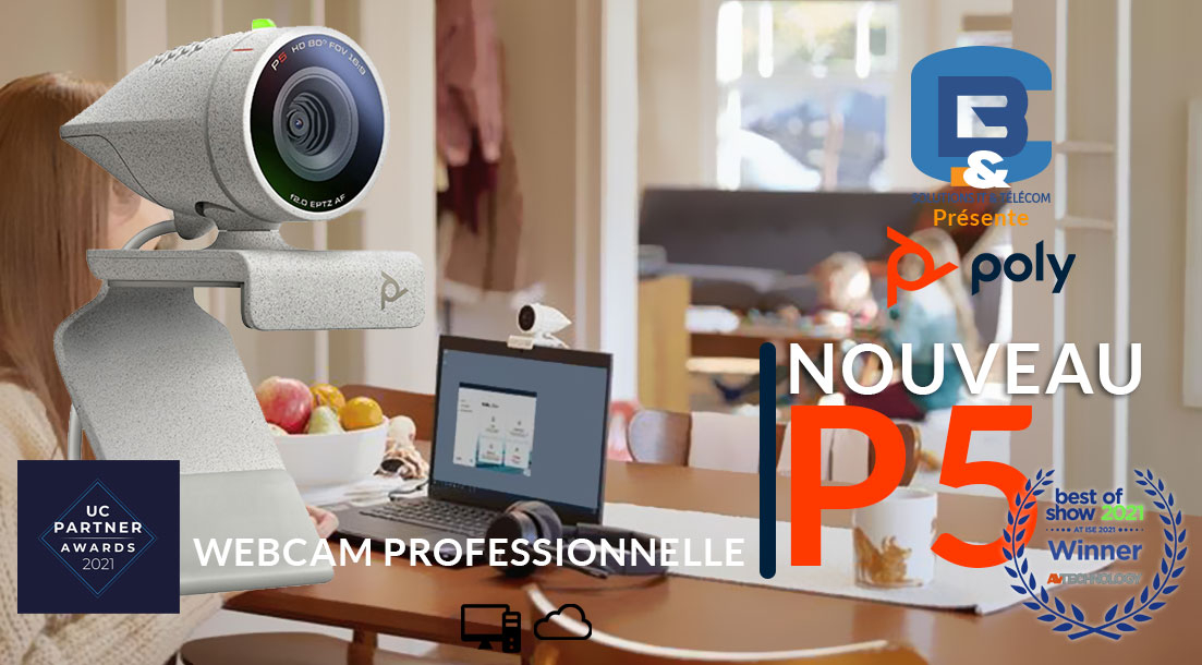 Web camera poly studio P5