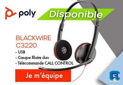 Poly Blackwire C3220 DISPONIBLE