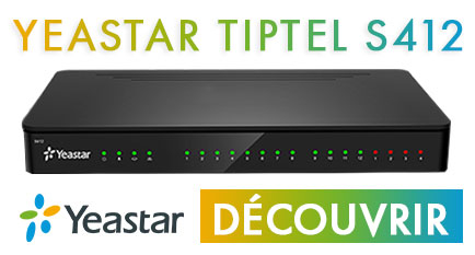 B&C vous fait découvrir le Tiptel Yeastar S412, un IPBX flexible et modulaire créé pour les besoins de communication des petites et moyennes entreprises.