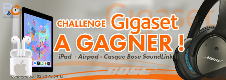 challenge gigaset  by B&C
