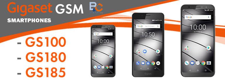 Les smartphones GSM de Gigaset