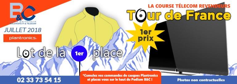 1er Lot de l'offre Tour de France 2018 - Bureautique & Communication