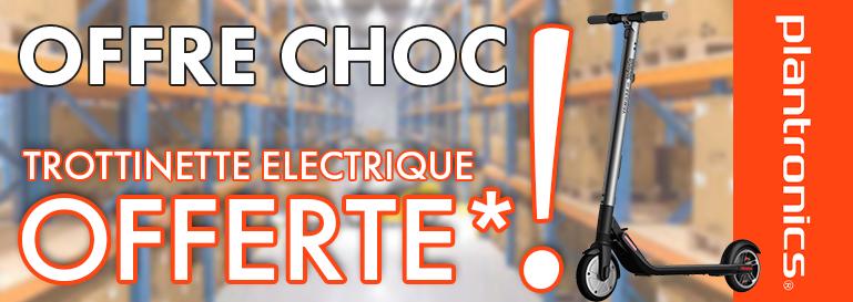 2500 DE COMMANDE PLANTRONICS = UNE TROTTINETTE ELECTRIQUE