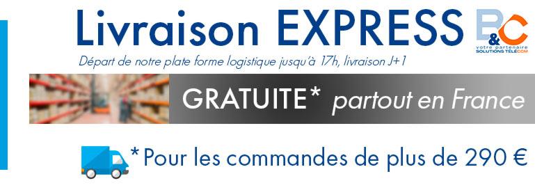 Livraison Express B&C 24/48h