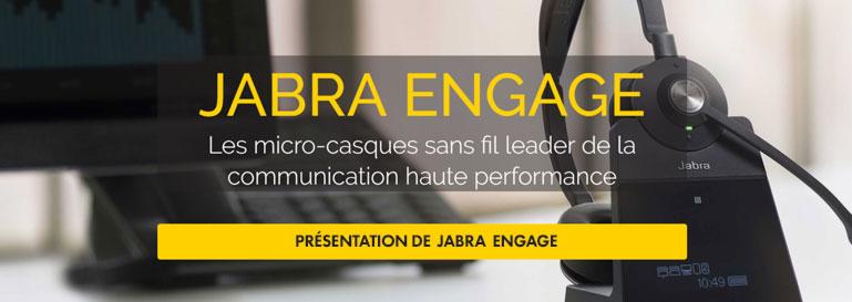 Communication haute performance Jabra Engage
