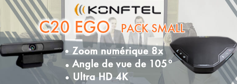 Pack Small Konftel C20 EGO