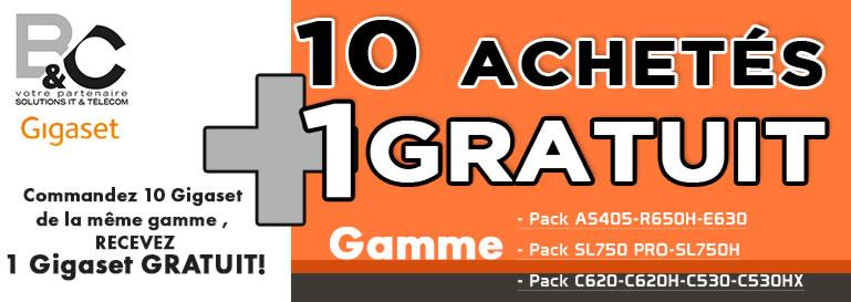 10+1 gigaset