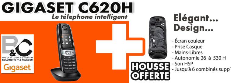 C620H + Housse offerte