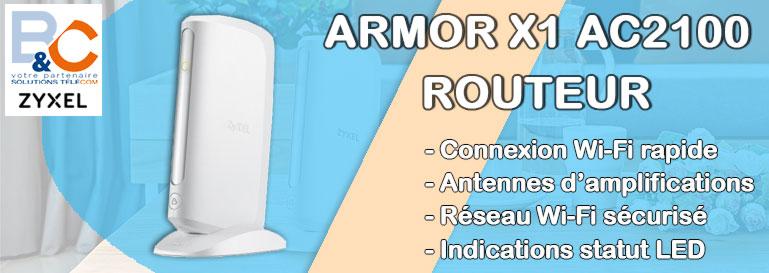Point d'accès / amplificateur WiFi double bande 802.11ac jusqu'à 2 Gbps